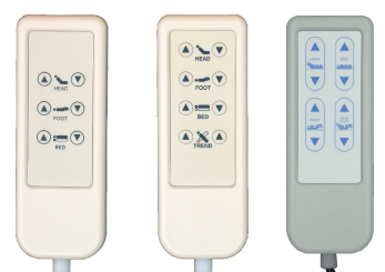 Replacement Controls for hospital beds
